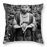 Tibetan Buddha Throw Pillow