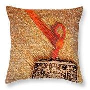 Tibetan Mandala  By Jrr Throw Pillow
