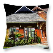 Ticket Store Throw Pillow