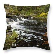 Tidga Creek Falls 1 Throw Pillow