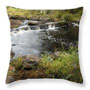 Tidga Creek Falls 2 Throw Pillow
