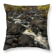 Tidga Creek Falls 3 Throw Pillow