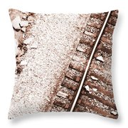 Ties That Bind Throw Pillow
