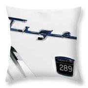 Tiger 289 Throw Pillow