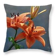 Tiger Lily Splendor Throw Pillow