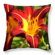 Tiger Lily0226 Throw Pillow