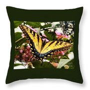 Tiger Tail Throw Pillow