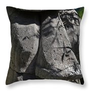 Tiki In Shade Throw Pillow