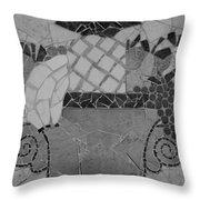 Tiled Fruit Throw Pillow