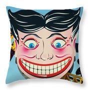 Tillie The Clown Of Coney Island Throw Pillow