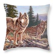 Timber Ridge Throw Pillow