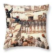 Timbuktu, 1894 Throw Pillow