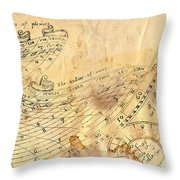Time - Horoscope Signs Throw Pillow
