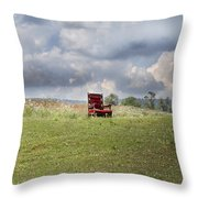 Time Alone Throw Pillow by Betsy Knapp