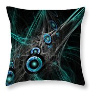 Time And Dimension Throw Pillow