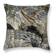 Time For A Manicure Throw Pillow