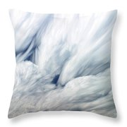 Time-lapse Clouds Throw Pillow