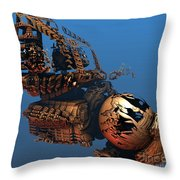 Time Machine A Long Journey Home Throw Pillow