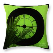 Time To Garden Throw Pillow