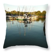 Time To Wake Up Throw Pillow