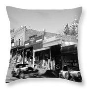 Timeless Auburn Throw Pillow