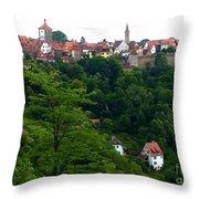 Timeless Rothenburg Throw Pillow
