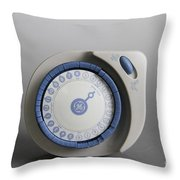 Timer Throw Pillow