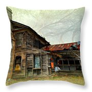 Times Long Gone Throw Pillow