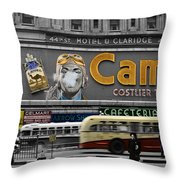 Times Square 1943 Throw Pillow