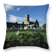 Timoleague Abbey, Co Cork, Ireland 13th Throw Pillow