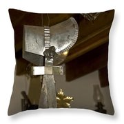 Tin Bonnet Throw Pillow