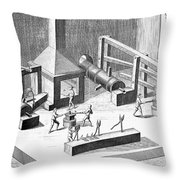 Tin Plate Manufacture Throw Pillow