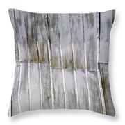 Tin Sheets Throw Pillow