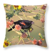Tinted By Sunset Throw Pillow