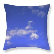 Tiny Tree Silhouette Throw Pillow