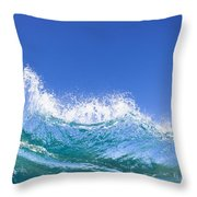 Tip Of A Breaking Wave Throw Pillow