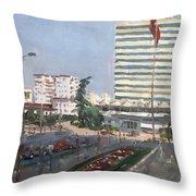 Tirana Throw Pillow