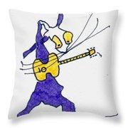 Tis The King - Elvis Throw Pillow