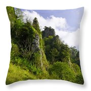 Tissington Spires Throw Pillow