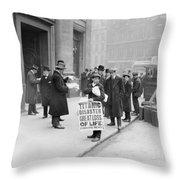 Titanic Disaster, 1912 Throw Pillow