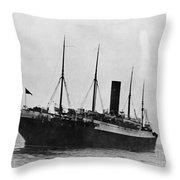 Titanic: The Carpathia, C1912 Throw Pillow