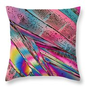 Titanium Chloride Throw Pillow