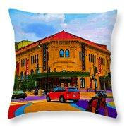 Tivoli Theatre Throw Pillow
