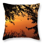 Tn Sunrise Throw Pillow