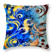 To Harness The Moon Throw Pillow
