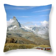 To The Summit Throw Pillow