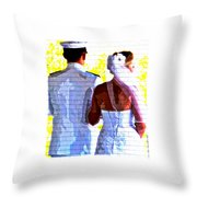 To Thee I Wed Throw Pillow