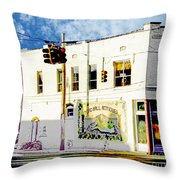 Toad Hall Antiques Throw Pillow