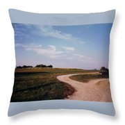 Tobacco Road Throw Pillow