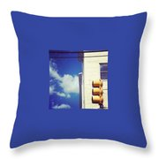 Today Is Bright Throw Pillow by Katie Cupcakes